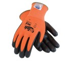 PIP 19-D340OR G-Tek Dyneema Diamond Technology Fiber and Nitrile Coating Cut Resistant Gloves